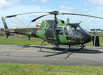 Eurocopter Fennec - A Danish Air Force AS550 C2 Fennec