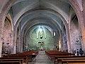 055 Santa Maria de Camprodon, nau i presbiteri.JPG