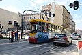 0595 Intersection of Wschodnia and Pomorska streets Lodz August 2019.jpg