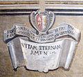 06 cosimo gheri, martirio di san mattia, 1590, stemma.JPG