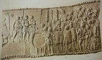 077 Conrad Cichorius, Die Reliefs der Traianssäule, Tafel LXXVII.jpg