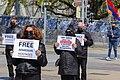 08 Protesters in Geneva demand the release of Armenian POWs, 15 April 2021.jpg