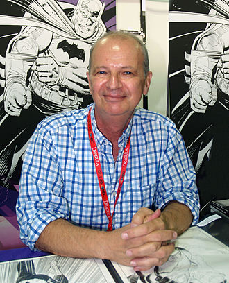 Klaus Janson - Janson at the New York Comic-Con