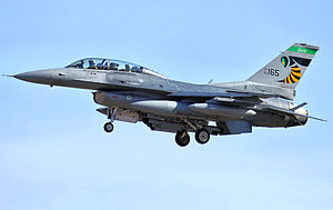 112th Fighter Squadron - 112th Fighter Squadron - General Dynamics F-16D Block 42F Fighting Falcon 89-2165