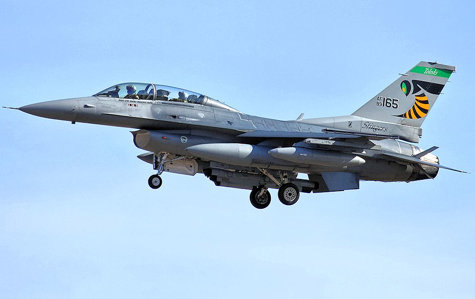 112th Fighter Squadron - General Dynamics F-16D Block 42F Fighting Falcon 89-2165