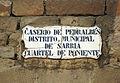 113 Placa al portal sud del recinte de Pedralbes.jpg