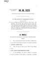 116th United States Congress H. R. 0000325 (1st session) - Peace Corps Stamp Act.pdf