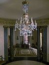 Thorne miniature rooms chandelier detail