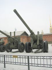 122mm m1931-37 gun Saint Petersburg 1