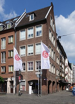 Burgplatz in Düsseldorf