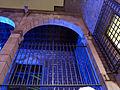 131 Porxo del Saló del Tinell, pl. Sant Iu, durant el festival Llum BCN.JPG