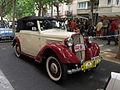 133 Fira Modernista de Terrassa, mostra de cotxes d'època a la Rambla.JPG