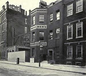 Working Men's College - The Working Men's College pre 1904 – Great Ormond Street, London