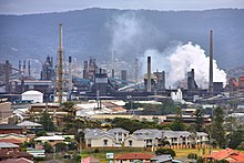 13 Industry of Australia - Steelworks of BlueScope Steel Limited company in Port Kembla, Australia.jpg