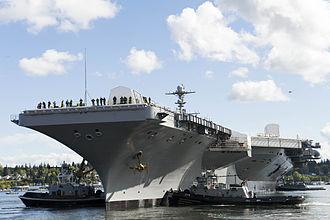 Carrier Strike Group 3 - USS John C. Stennis (25 April 2014)