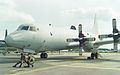 157310 - LP-6 Lockheed P-3 Orion US Navy, RIAT 1993. (6973368188).jpg