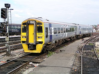 Wales and Borders - Image: 158823 at Bristol Temple Meads