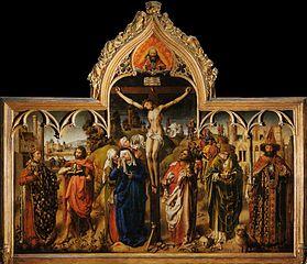 Paris Parliament Crucifixion