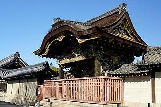 Nishi Hongan-ji - Karamon gate of Nishi Hongan-ji