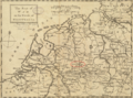 1757 Munster detail of map Seat of War in the Circle of Westphalia BPL 14521.png