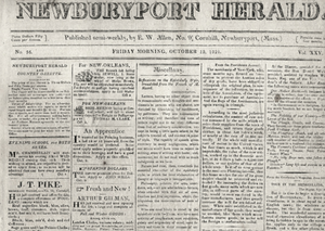 Newburyport Herald - Newburyport Herald, 1821