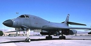 184th Intelligence Wing - 184th Bomb Wing Rockwell B-1B Lancer Lot IV 85-0081, 2000