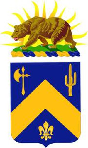 184th Infantry Regiment (United States) - Image: 184th Infantry Regt coat of arms