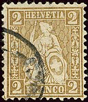 1881issue 2c Helvetia used Mi36.jpg