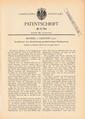 1885-06-11 - Kaiserliches Patentamt - Patentschrift 31781 (1von2).png