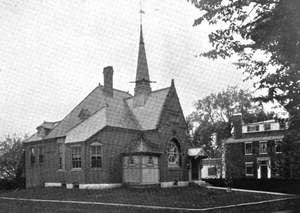 Billerica Public Library - Image: 1899 Billerica public library Massachusetts