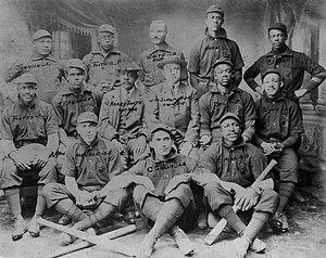 Sol White - 1904 Philadelphia Giants
