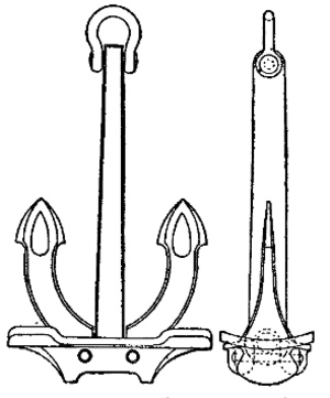 William Hutcheon Hall - Hall's patent anchor; Hingley's became sole manufacturers of these anchors in 1891