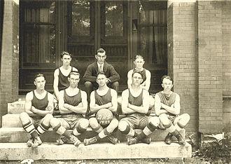 Dickson, Tennessee - The 1922 Dickson County High School basketball team