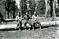 1929. Ike Hastings, W.D. Bedard, and P.C. Johnson. Horsefly Unit. Southern Oregon Northern California control project. (33208108163).jpg