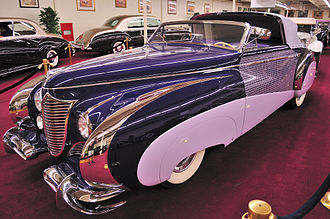 Saoutchik - 1948 Cadillac Series 62 of particularly flamboyant design