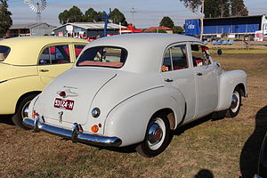 Holden 48 215 wikivividly holden fj image 1953 56 fj standard rear birch grey fandeluxe Images