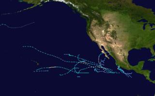 1966 Pacific hurricane season hurricane season in the Pacific Ocean