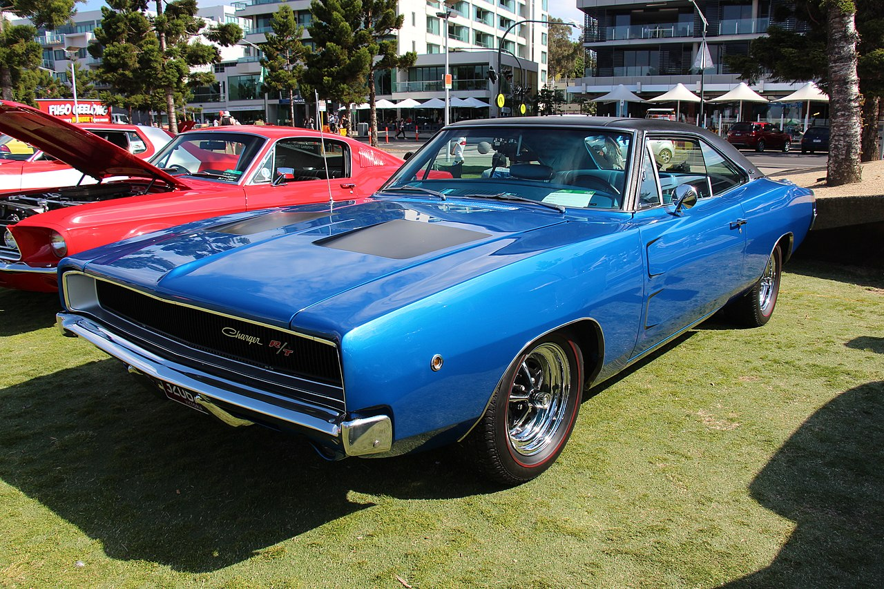 File:1968 Dodge Charger (15942903475).jpg - Wikimedia Commons