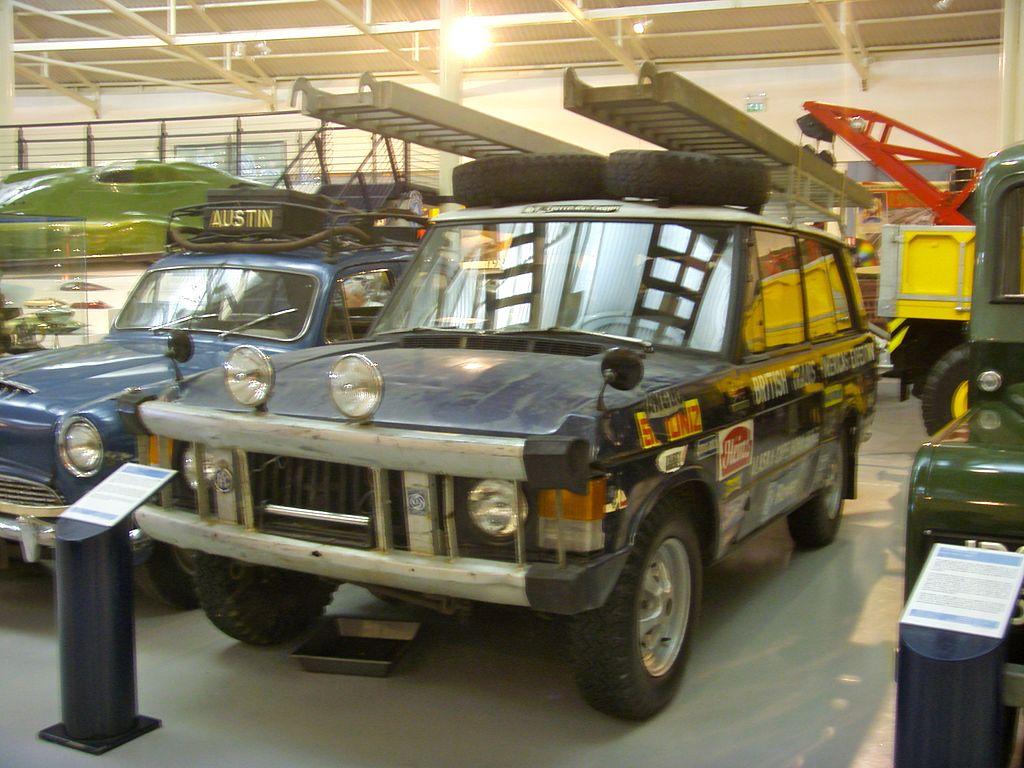 file 1971 range rover darien gap expedition vehicle heritage motor centre. Black Bedroom Furniture Sets. Home Design Ideas
