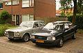 1971 Volvo 164 & 1983 Audi 100 (9260717903).jpg