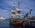 1978 replica of the Bounty at dock in Sydney.jpg