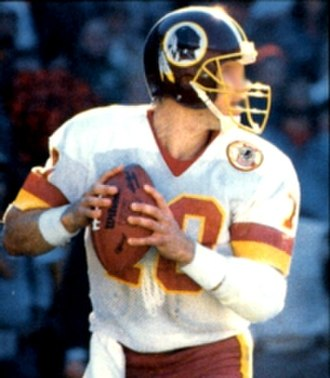 Jay Schroeder - Schroeder playing for the Redskins in 1986