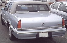 Chrysler new yorker wikipedia for 93 chrysler new yorker salon