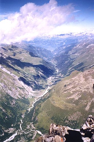 Val d'Anniviers - The val d'Anniviers