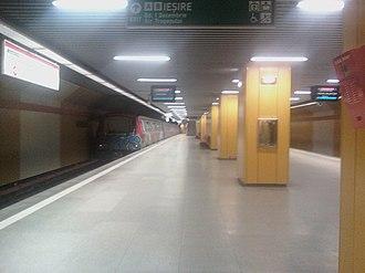 1 Decembrie 1918 metro station - Image: 1Decembrie 1918Metro