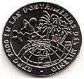 1 песо. Куба. 1998. История мировых выставок - ЭКСПО 2000.jpg