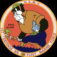 1st Defense Battalion - Wake Island