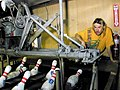 20000130 Human pinsetter - McMurdo Station bowling alley - Antarctic Sun newsletter.jpg