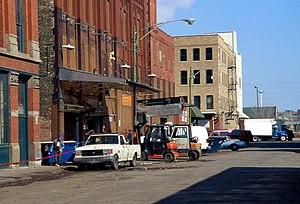 Fulton-Randolph Market District - The market in 2002