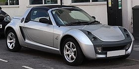 2004 Smart Roadster Speedsilver Automatic 700cc Front.jpg